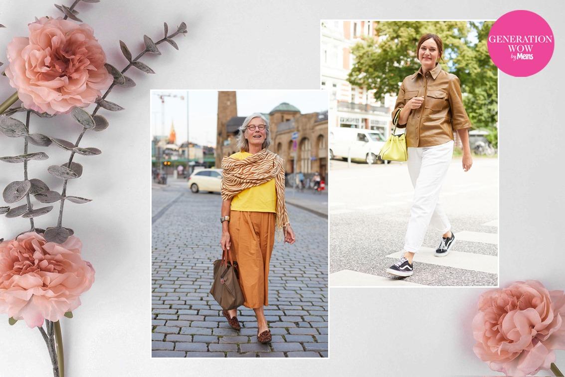 Mode für frauen ab 50 bilder