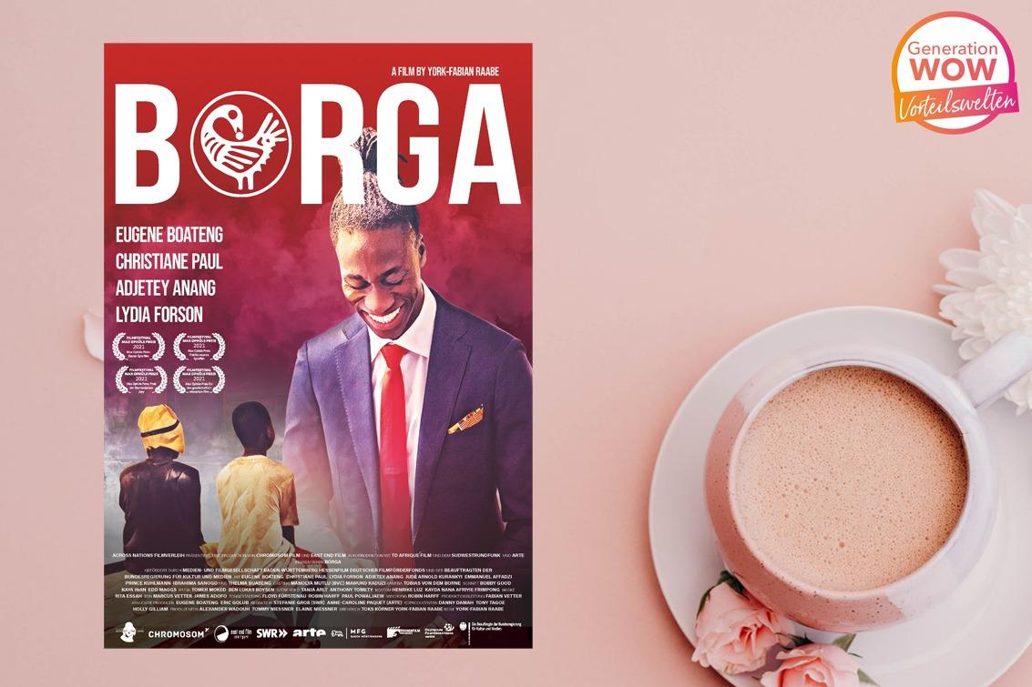 Kino-Gewinnspiel zu BORGA