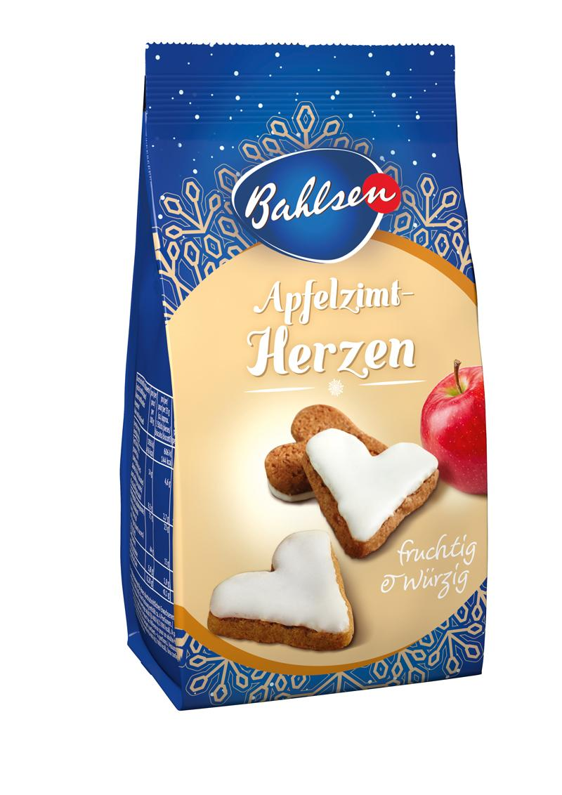 BAHLSEN Apfelzimt-Herzen 100g LE-Single 80470
